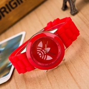 NWT Red Adidas Watch